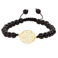 دستبند طلا 18عیار زنانه الن کد EL186
