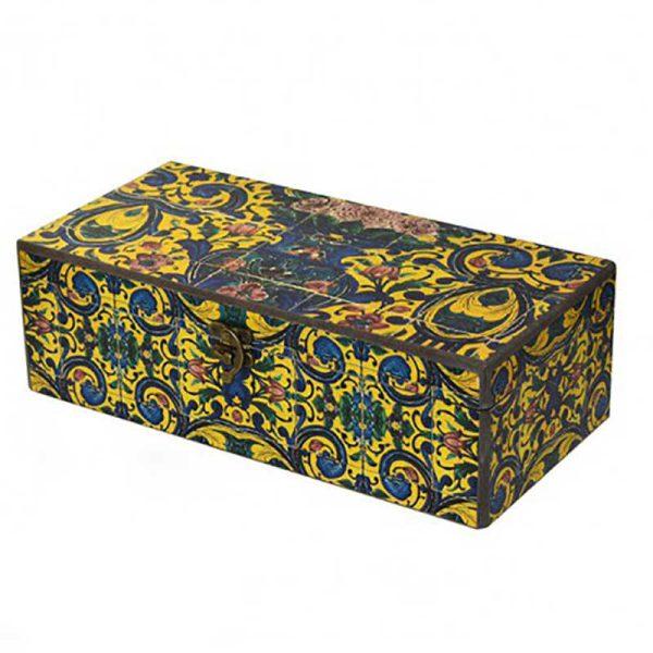 جعبه چای و دمنوش طرح کهربا