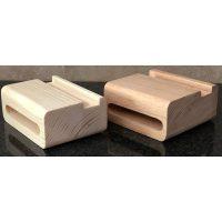 اسپیکر چوبی ساده