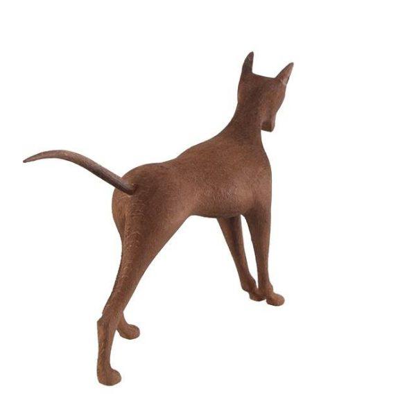 مجسمه چوبی طرح سگ