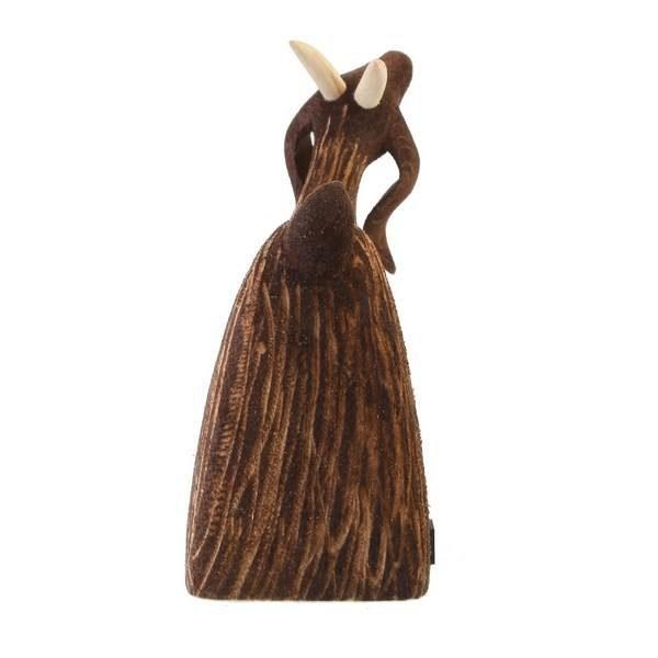 مجسمه چوبی طرح بز