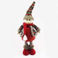 عروسک آدم برفی تلکسوپی کریسمس