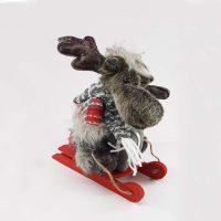 عروسک گوزن سورتمه سوار