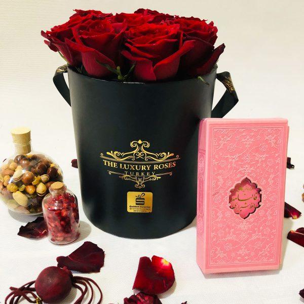 پک یلدایی باکس گل ویژه