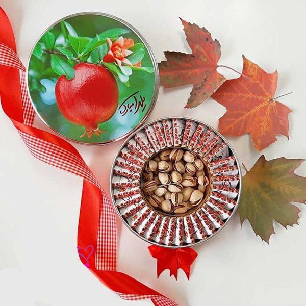 پک شکلات یلدایی گرد کوچک