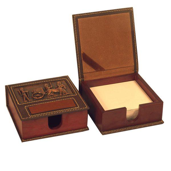 جعبه یادداشت با رویه مسی