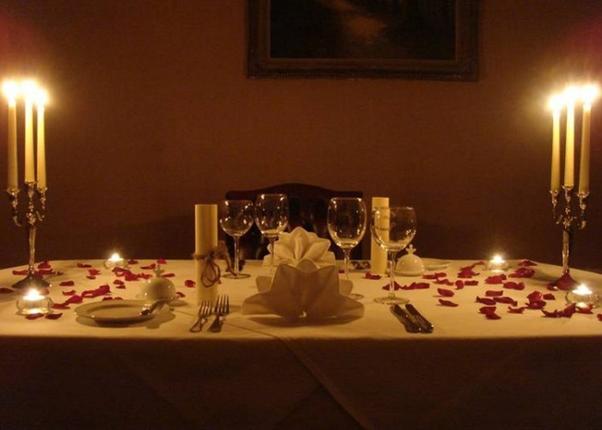 یک شام رمانتیک