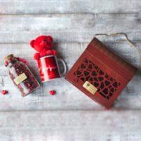 باکس صندوقی چوبی ولنتاینی