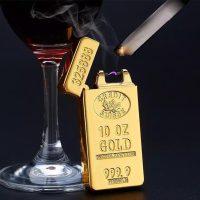 فندک ورق طلا