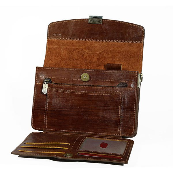 کیف پاسپورتی ۴ طبله آلبوم دار گاوی