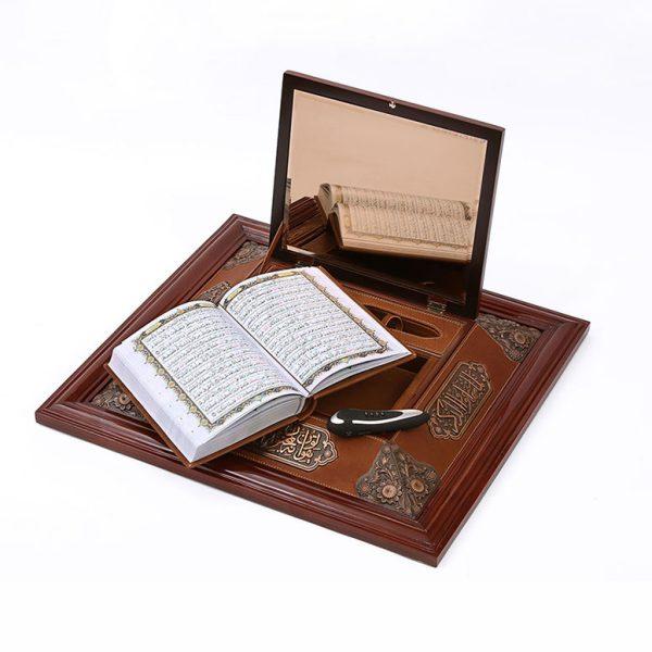 جعبه دیواری قرآن وزیری پتینه