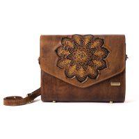 کیف دوشی زنانه تذهیب