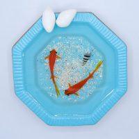 حوض مادربزرگ سایز کوچک و ماهی قرمز