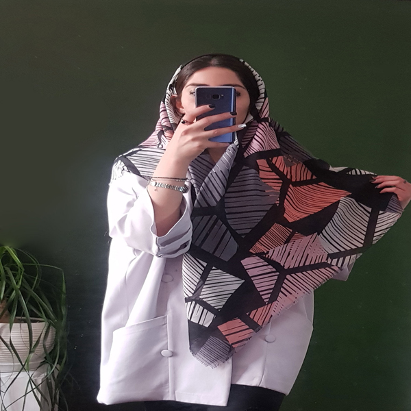 روسری آینه شکسته