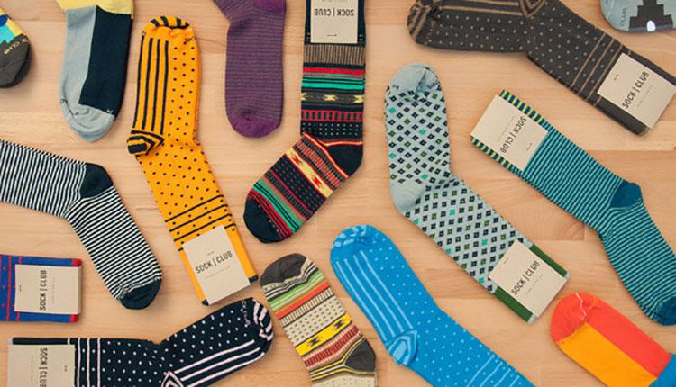 جوراب های متنوع