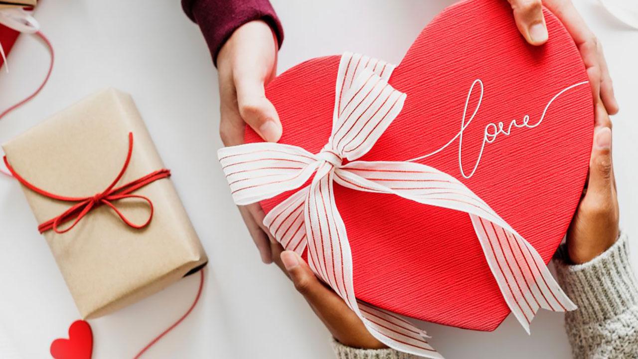 تزیین هدیه ولنتاین برای آقایان
